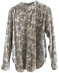 Étoile Isabel Marant Camisa en algodón multicolor