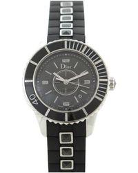 Dior Christal Uhren - Schwarz