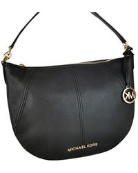 Michael Kors Bedford Medium Covertible Leather Shoulder/Crossbody bag - Black - Nero
