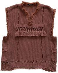Isabel Marant Brown Cotton Jacket