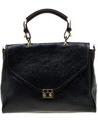 Mulberry Black Patent Leather Handbag