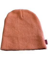 Supreme Strickmütze - Pink