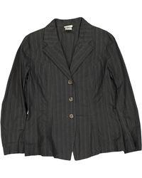 Dries Van Noten - Anthracite Cotton Jacket - Lyst