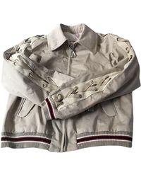 Sandro Biker Jacket - Natural
