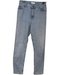 Sandro Spring Summer 2020 Bootcut jeans - Blau