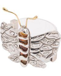 Chloé - Pre-owned Silver Metal Bracelet - Lyst