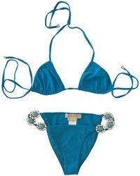 Michael Kors Two-piece Swimsuit - Blue