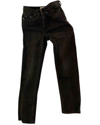 Acne Studios Row Straight Jeans - Gray
