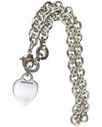 Tiffany & Co. Return To Tiffany Silver Silver Necklace - Metallic
