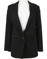 Jenni Kayne - Black Wool Jacket - Lyst
