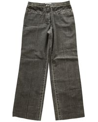 Chanel Large Pants - Gray
