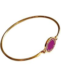 Marc By Marc Jacobs Gold Metal Bracelet - Metallic