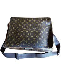 Louis Vuitton Leder Reise Tasche - Braun