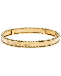 Van Cleef & Arpels Perlée Yellow Gold Bracelet - Metallic