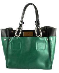 Chloé - Green Leather Handbag - Lyst