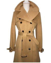 Burberry Wool Coat - Multicolour
