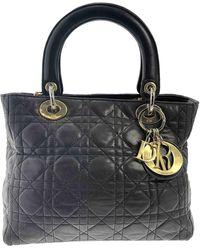 Dior Lady Leder Handtaschen - Braun
