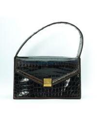 Hermès Krokodil Handtaschen - Mehrfarbig
