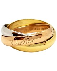 Cartier Trinity Pink Gold Ring - Metallic