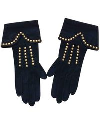 Givenchy - Pre-owned Leather Gloves - Lyst