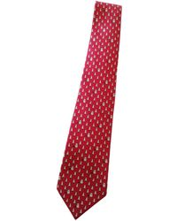 Hermès Silk Tie - Red