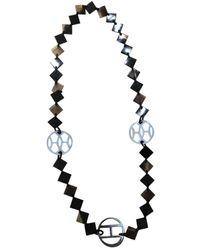 Hermès Hava Horn Halsketten - Braun