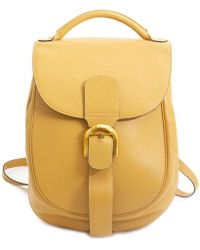 Delvaux - Yellow Leather - Lyst