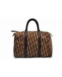 Dior Bowling Leinen Handtaschen - Mehrfarbig