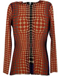 Jean Paul Gaultier Multicolor Synthetic Top