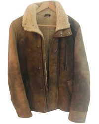 Jil Sander Shearling Coat - Multicolour