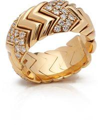 BVLGARI Serpenti Yellow Yellow Gold Ring