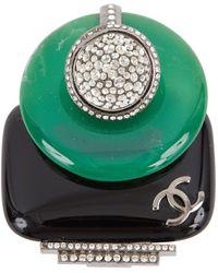 Chanel Broschen - Grün