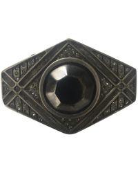 Marni Broche en metal negro