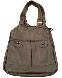 Marc By Marc Jacobs Gray Leather Handbag - Multicolor