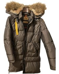 Parajumpers Brown Synthetic Coat