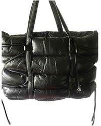 Moncler Leather Handbag - Black