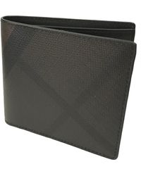 Burberry - Anthracite Synthetic Small Bag Wallets & Cases - Lyst