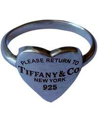 Tiffany & Co. Anillo Return to Tiffany de Plata - Multicolor
