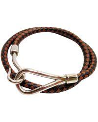 Hermès - Jumbo Leather Jewellery - Lyst