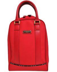 Burberry Cloth Handbag - Red