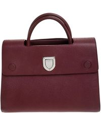 Dior Ever Red Leather Handbag