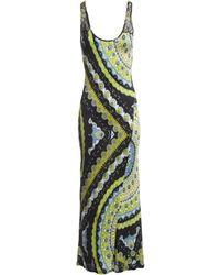 buy online 58576 a7afa Abiti in viscosa multicolore - Verde