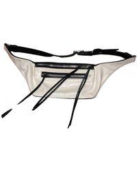 Rag & Bone Patent Leather Handbag - White
