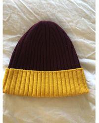 CALVIN KLEIN 205W39NYC Wool Beanie - Multicolor