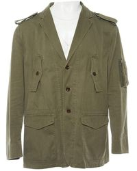 Polo Ralph Lauren - Khaki Cotton Jacket - Lyst