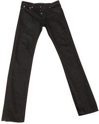 Givenchy Jeans en Coton Noir