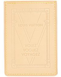f5fae9d56622 Lyst - Portefeuille en cuir Louis Vuitton en coloris Marron