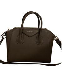 Givenchy Antigona Leder Handtaschen - Grau
