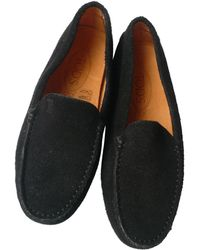 Tod's - Black Leather - Lyst