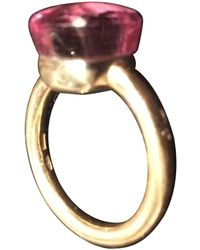 Pomellato - Nudo Pink Gold Ring - Lyst